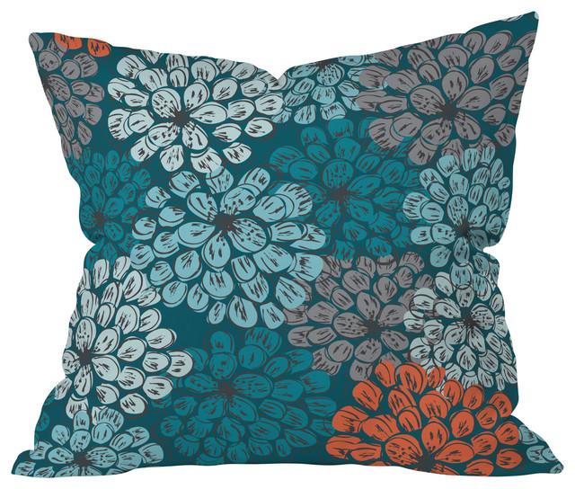 Khristian A Howell Greenwich Gardens 3 Throw Pillow contemporary-decorative-pillows