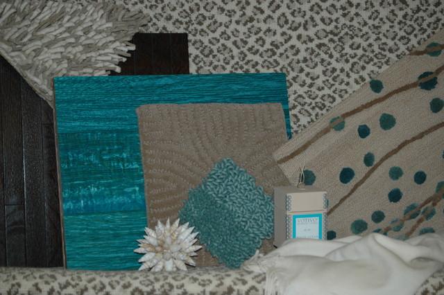 Wood - Carpet - Shag - Custom Rug eclectic-flooring