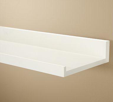 White Wood Shelves : ... Products / Storage & Organization / Shelving / Display & Wall She...