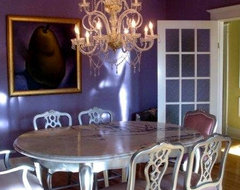 Color Feast 6 Deliciously Uncommon Dining Room Color Combos