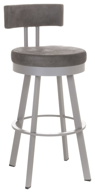 Amisco Barry Swivel Stool 41445 24 Inches Counter Height