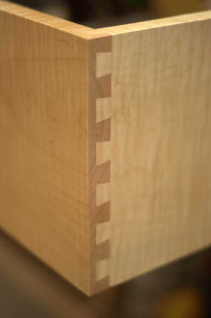 Dovetail Drawers traditional-kitchen-drawer-organizers