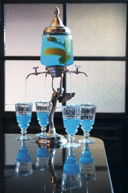 Blue Butcher Dining Decoration/ Styling eclectic