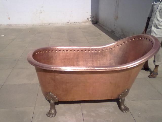 bathtub copper modern bathtubs