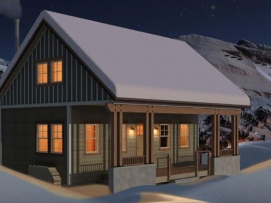 House Plan 556-3 skylights