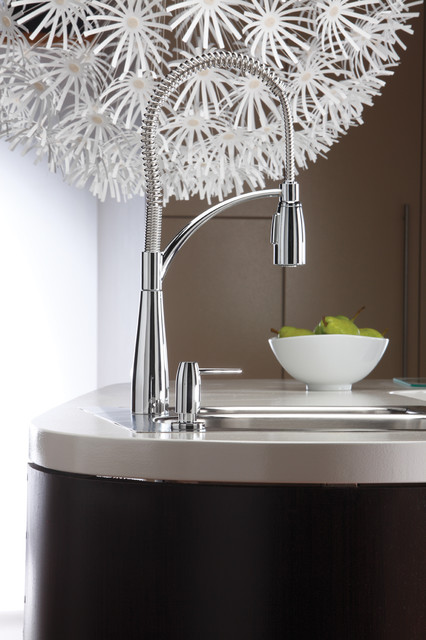 Just Going with the Flow  kitchen faucets
