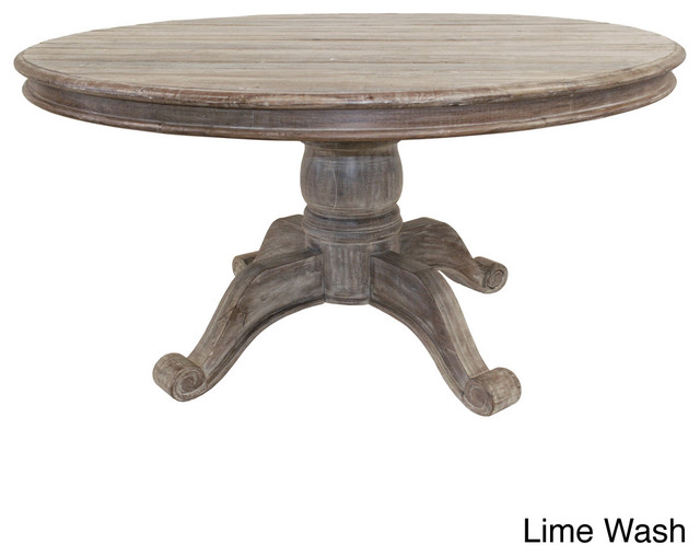 Hamshire Round Dining Table 60 Inch Contemporary
