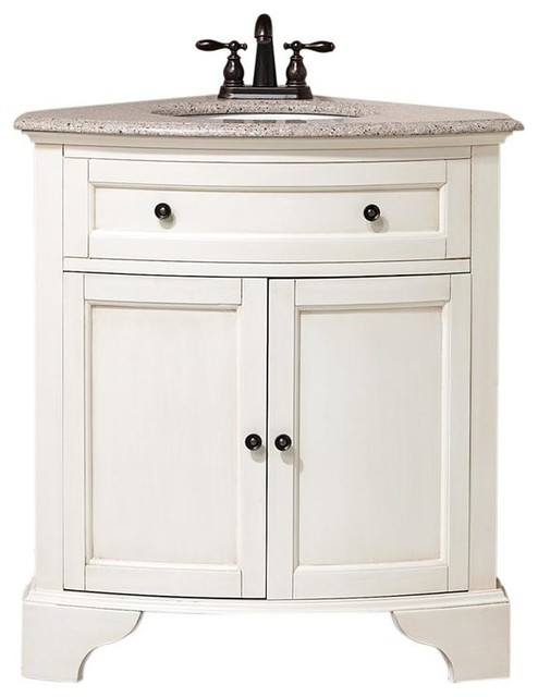 Corner Vanity Sink : Hamilton Corner Vanity - Traditional - Bathroom Sinks