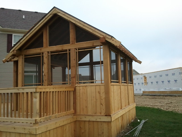 Gilberts stand alone screened porch for Stand alone outdoor privacy screen