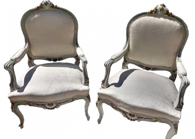 Vintage French Chairs Eclectic Armchairs And Accent Chairs New York B