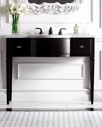 Ambella - Contemporary Vanity with Sink contemporary bathroom vanities and sink consoles