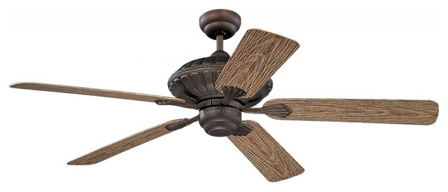 Cozumel 52-Inch 5-Blade Outdoor Ceiling Fan with Motor traditional-outdoor-lighting