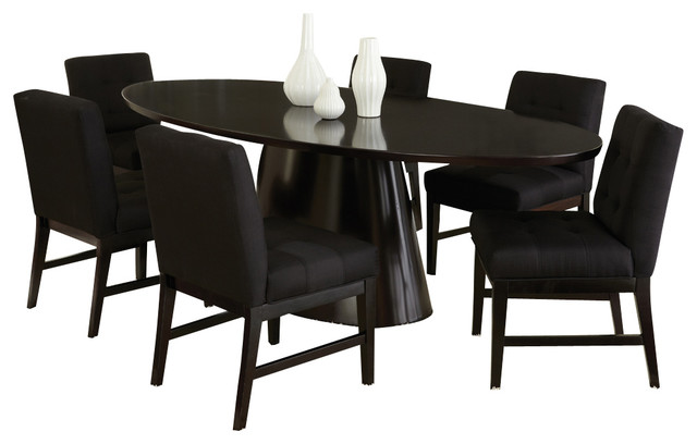 dining room set in sleek black traditional dining sets by beyond