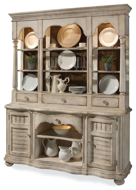 ART Furniture - Belmar Light Buffet with Hutch in China Cabinets - ART-189245-26 - Traditional ...