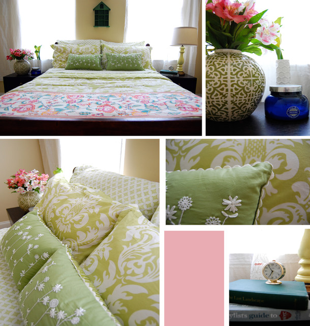 Sunny Cottage Guest Room eclectic-bedroom