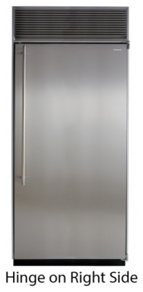 """M36ARSGXR 36"""" All Refrigerator  with Full Extension Glide-Out Clear Crisper Draw contemporary-refrigerators"""