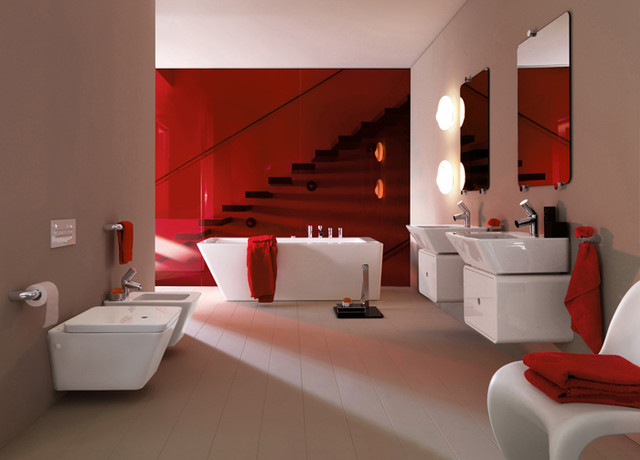 Luxury Modern Bathroom Design contemporary-bathroom-vanities-and-sink-consoles