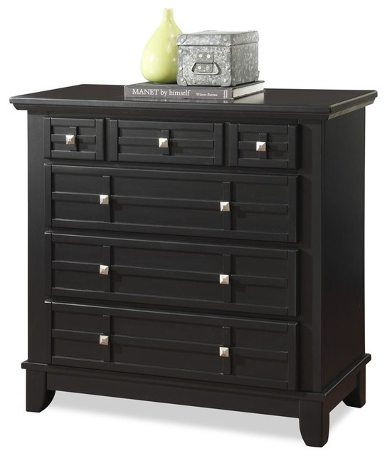 36 In Chest In Black Finish Craftsman Dressers Chests And Bedroom Armoires By Ivgstores
