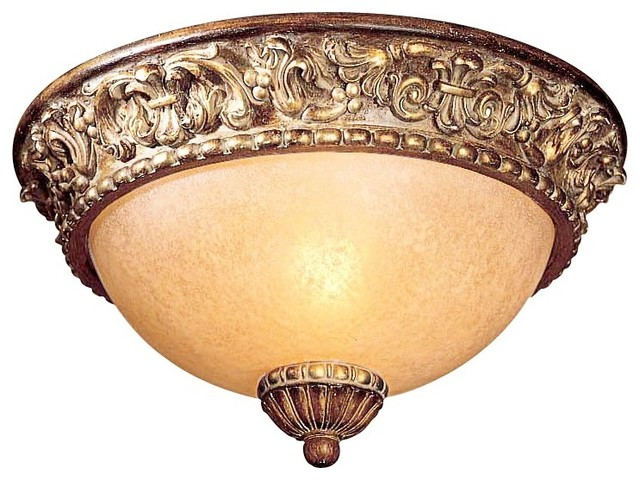 "Country - Cottage Umbria Collection 11 1/2"" Wide Ceiling Light Fixture traditional-ceiling-lighting"