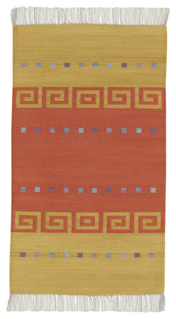Woven Spirits Del Valle rug in Key rugs