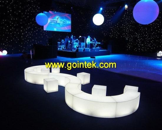 Illuminated Led Stools for pub seat -