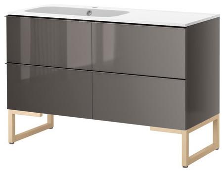 GODMORGON/NORRVIKEN Sink cabinet with 4 drawers modern-bathroom-vanities-and-sink-consoles