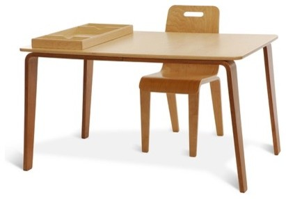 Craft Work Kid S Table And Chair Set Modern Kids