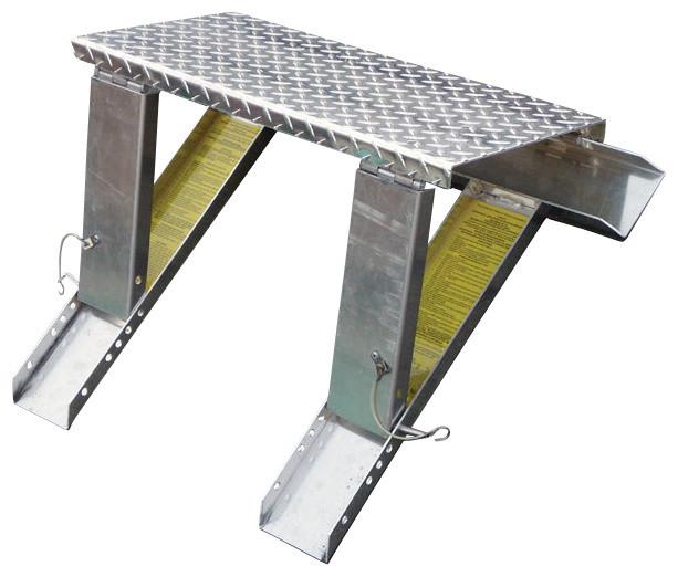 High Stepper Roof System - Work Platform and Ladder Supports - Modern ...