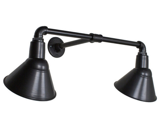 The Dual Arm Angle Sign Light -