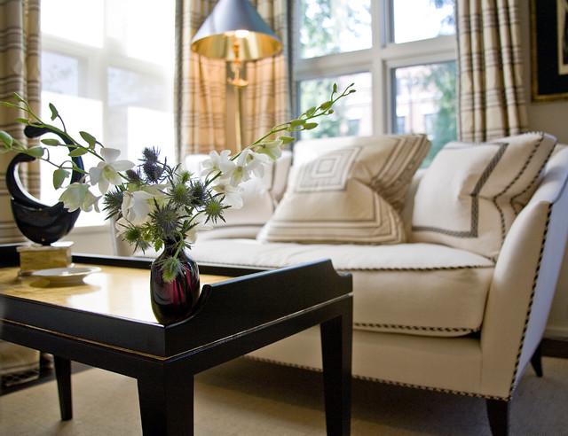 Lincoln Park Single Family Home contemporary-living-room