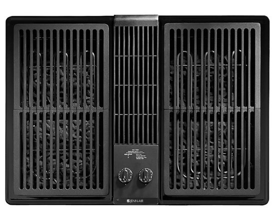 "Jenn-Air 30"" Outdoor Electric Downdraft Grill, Black On Black 