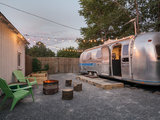 eclectic patio Houzz TV: See a Man Turn a '70s Airstream Into a Cool, Happy Home (3 photos)