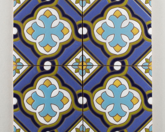 The Handpainted Classic Cuerda Seca Collection: Spanish Cross -