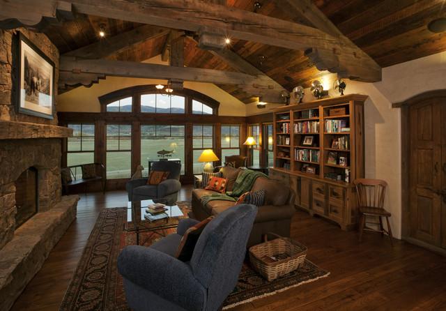 Lynne Barton Bier rustic-home-office