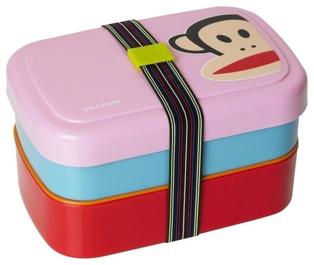 Paul Frank Bedroom In A Box: PAUL FRANK Picnic Lunch Box, Pink