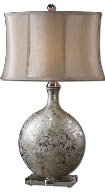 Navelli Silver Table Lamp traditional-table-lamps