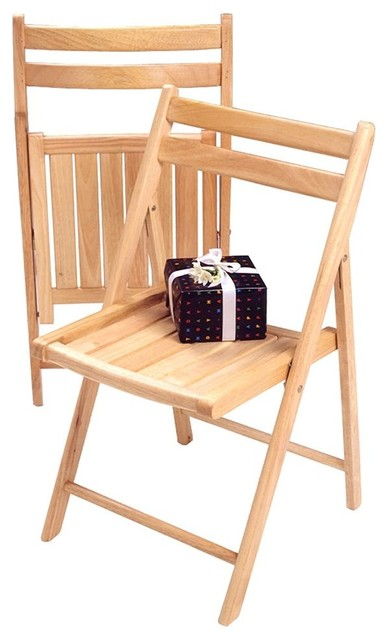 Wooden Folding Chairs Set Of 4 Contemporary Outdoor