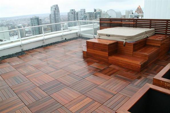 Teak Deck Tiles Ipe Decking Tiles Outdoor Products
