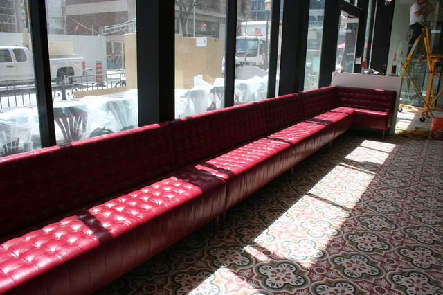 Dineen Coffee Co. modern-indoor-benches