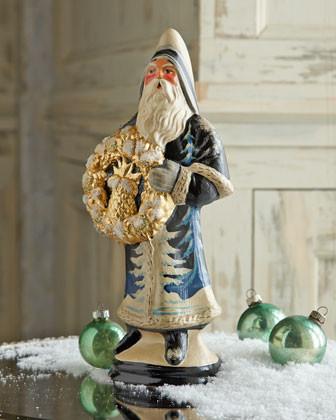 Vaillancourt Folk Art Della Robbia Santa traditional-artwork