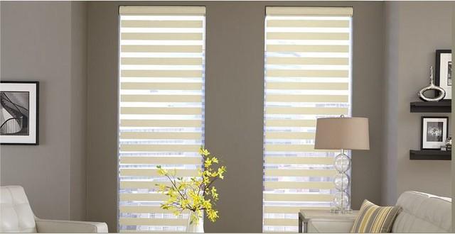 Venetian Blinds- 3 Day Blinds- Living Room window-treatments