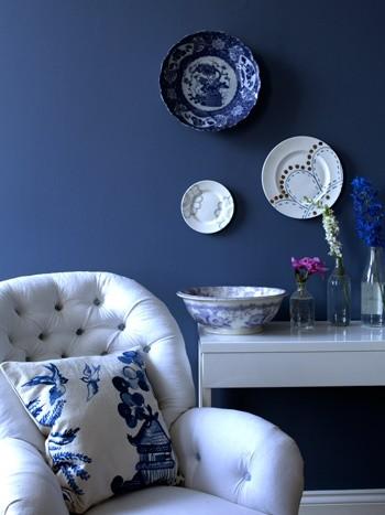 Bluebirds contemporary-decorative-pillows