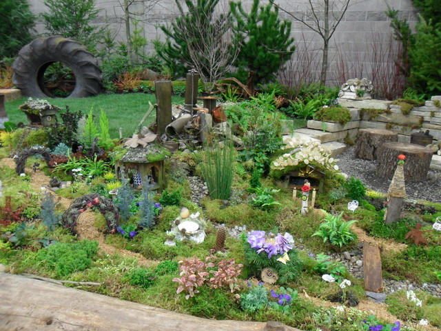 Fairy Garden Village Eclectic Kids Portland By