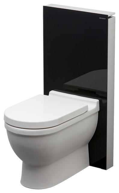 geberit black glass monolith toilet modern toilets other metro by geberit. Black Bedroom Furniture Sets. Home Design Ideas