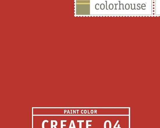 Colorhouse CREATE .04 - Colorhouse CREATE .04: Mandarin red. Perfect for dining rooms. Gets the party started.