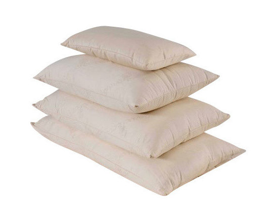Bio Sleep Concept - Organic Wool Firm Pillow, King - Amazing, hand crafted bed pillows. Our pillows are made exclusively using Natural Felt certified organic cotton, and manufactured in the State of Oregon. Our pillows come in three sizes. Standard (20x25) Queen (20x30) King (20x36) Our products bear the organic cotton logo.