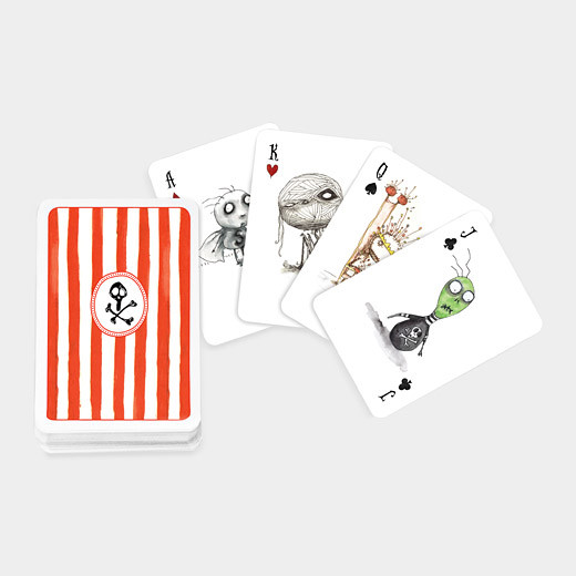 Tim Burton's Playing Cards eclectic-home-decor