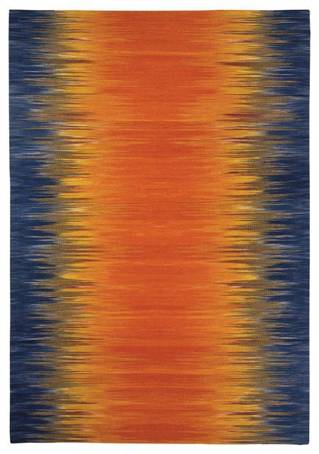 Flash rug in Sunburst rugs