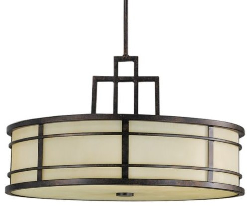Fusion Drum Duo-Mount by Feiss modern-ceiling-lighting