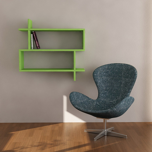 Paralel Wall Shelf by Matte contemporary-display-and-wall-shelves